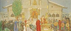 Carl Larsson - Midwinter's Sacrifice - Google Art Project - 冬至の生贄 - Wikipedia