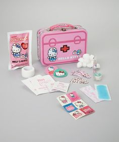 Look at this #zulilyfind! Hello Kitty Tin First Aid Set by Hello Kitty #zulilyfinds
