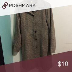 Jacket Mid length one button missing Jackets & Coats Pea Coats