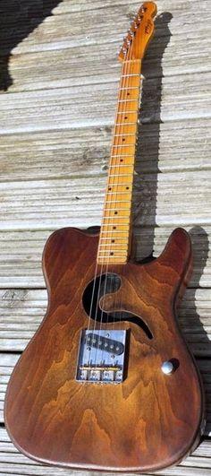 Greenwater Guitars Mojo Tullycaster --- https://www.pinterest.com/lardyfatboy/