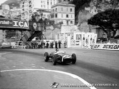 1960 Formula 1 Monaco Grand Prix - Stirling Moss.