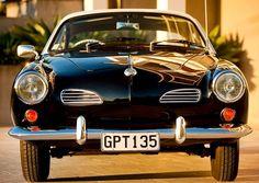 Karmann Ghia - My Grandma taught me to drive using her green Karmann Ghia in 1972.