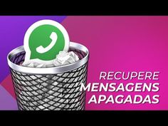Como recuperar mensagens apagadas no WhatsApp para Android? - YouTube Android, Internet Tv, Plastic Laundry Basket, Smartphone, Ipad, Geek Stuff, Humor, Blog, Pasta