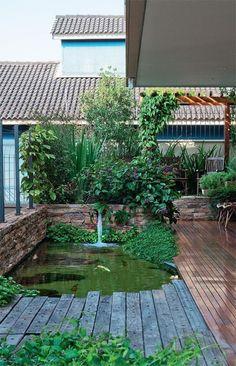 Os Jardins Planejados valorizam qualquer ambiente, explore 50 fotos de jardins que vão servir como inspiração pra você personalizar o jardim de sua casa.