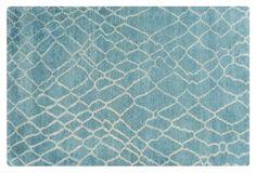 8'x11' Mikanta Rug, Green/Blue