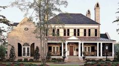 Ultimate DREAM HOUSE. PERFECT!!!!! Southern Living Home Plans. I remember finding this in the magazine when I was a kid. I cut it out of the magazine and put it in my scrapbook!