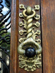 Brass Door Knocker~Barcelona, Spain
