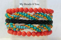PDF Beadwork Tutorial Seed Bead Bracelet Tutorial by mybeads4you