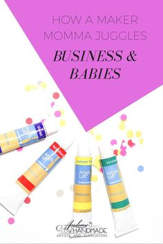 Babies & Business: Zelma Rose Shares What It's Like Being a Maker Mom