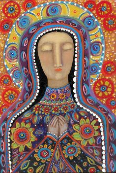THE MEXICAN MADONNA ARCHIVAL GICLEE PRINT by RoseWalton on Etsy