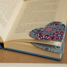 Geschenke nähen: Das Lesezeichen