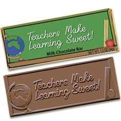 Teachers Make Learning Sweet 2x 5 Chocolate Bar