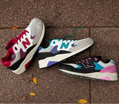 New Balance RevLite 580 - 3 colorways (Summer 2014)