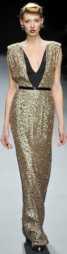 Jenny Packham Fall 2012 ~ NYFW