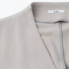 Belgium Linen Long Cardigan (Detal 1) https://hibi.co.jp/products/detail.php?product_id=9