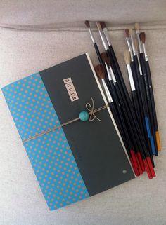 Tender Is The Night Handmade Notebook