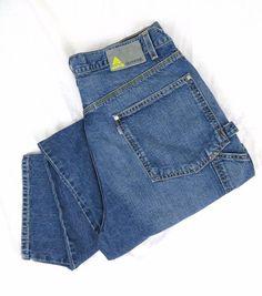 Levi's SilverTab Jeans 36 x 34 Carpenter Retired Vintage Craftsmen Worker Denim #Levis #Carpenter