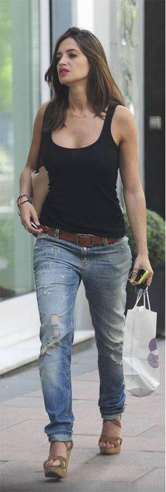 Sara Carbonero, me encanta su estilo....