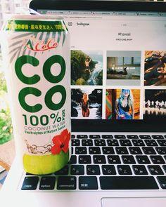 Coconut Water, Hawaii, Drinks, Instagram, Agua De Coco, Beverages, Drink, Beverage, Hawaiian Islands