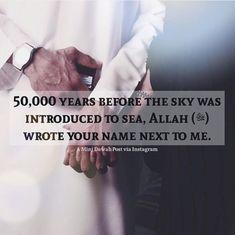 Allah u akbar.i hope Muslim Love Quotes, Love In Islam, Beautiful Islamic Quotes, Religious Quotes, Islamic Wedding Quotes, Muslim Couple Quotes, Quran Verses, Quran Quotes, Me Quotes