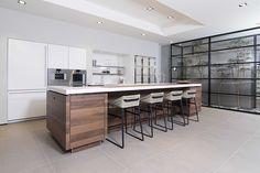 SieMatic keuken in de showroom van Aswa Keukens Helmond