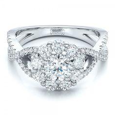 custom diamond halo engagement ring joseph jewelry bellevue seattle online design