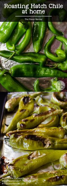 How to roast Hatch Chile at home - Get to the stores and buy Hatch Chile in bulk! You can roast them at home with this super easy guide and store them in your freezer even after they are out of season! Green Chili Recipes, Mexican Food Recipes, Tuna Recipes, Mexican Cooking, Paleo Recipes, Hatch Peppers, Hatch Chili, Hatch Green Chiles, Hatch Chile Salsa