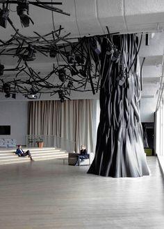 Árboles que decoran casas y oficinas