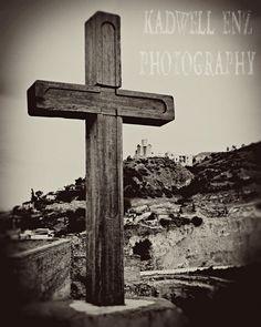 Tbilisi Cross Fine Art Photograph Travel by KEnzPhotography, $30.00