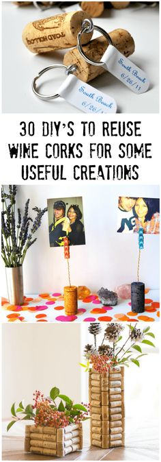 30 DIY's To Reuse Wine Corks For Some Useful Creations #diy #reuse #projects #wine #corks #creations