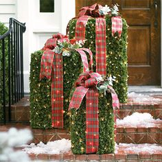 Outdoor Christmas Packages