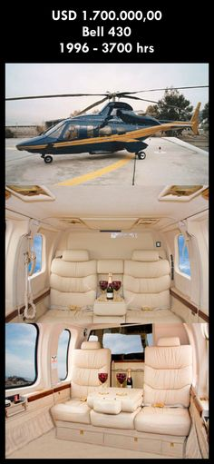 Aeronave à venda: Bell 430 , 1996, 3700 hrs, USD 1.700.000,00. #bell #bell430 #430 #airsoftanv #aircraftforsale #aeronaveavenda #pilot #piloto #helicoptero #aviation #aviacao #heli #helicopterforsale  www.airsoftaeronaves.com.br/H221