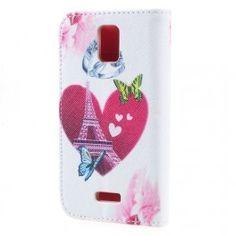 Huawei Y360 sydän puhelinlompakko.