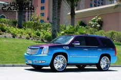 chromed caddilac | اسكاليد معدل chrome & carbon cadillac escalade version ...