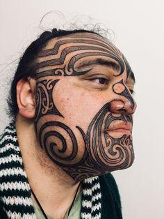 Mana, Whakapapa, Whanau. Facial Tattoos, Maori