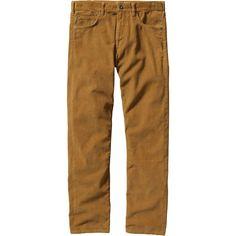 Patagonia - Straight Fit Corduroy Pant - Men's - Oaks Brown