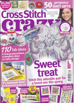 Cross Stitch Crazy Issue 175 patterns pinned