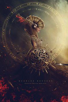 Celestial Warrior Gabrielle by Carlos-Quevedo on DeviantArt