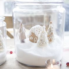 Holiday Project: Alpine Gingerbread Houses In A Jar - Discover, A World Market Blog