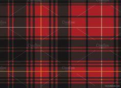 Seamless Scottish Tartan Pattern by VecFashion on @creativemarket