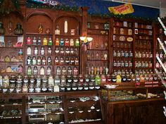 Fully-stocked penny candy store in the logging town of McCloud, near Mount Shasta - burneyfalls03x by mlhradio, via Flickr
