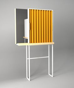 PLEAT / a cosmetic cabinet on Behance