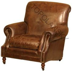 Althorp Leather chair www.topolanksy.co.za