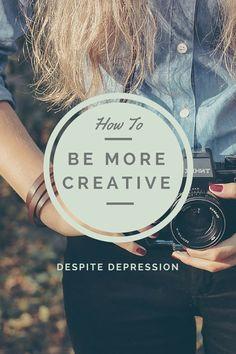 5 Ways to Be More Creative Despite Depression