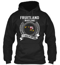 Fruitland, Maryland - My Story Begins