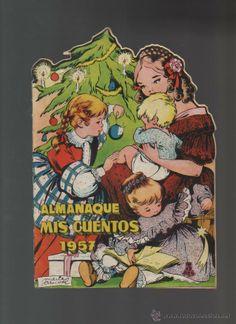 MIS CUENTOS - MARIA PASCUAL - ALMANAQUE ORIGINAL 1957 - TROQUELADO - B 5 (Tebeos y Comics - Tebeos Almanaques, Extras y Nº 1)