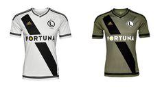 Camisas do Legia Varsóvia 2016-2017 Adidas