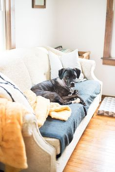 Hannah & Kristie's Cozy Living Room