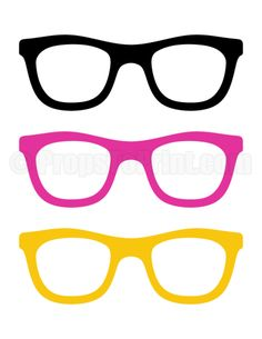 e13197470f8 Printable sunglasses photo booth prop. Create DIY props with our free PDF  template at http