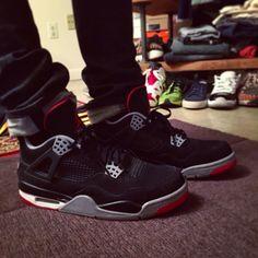 Air Jordan 4s Bred